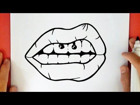 Come Disegnare Una Bocca Tumblr Youtube