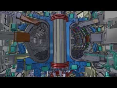 ITER Fly-through