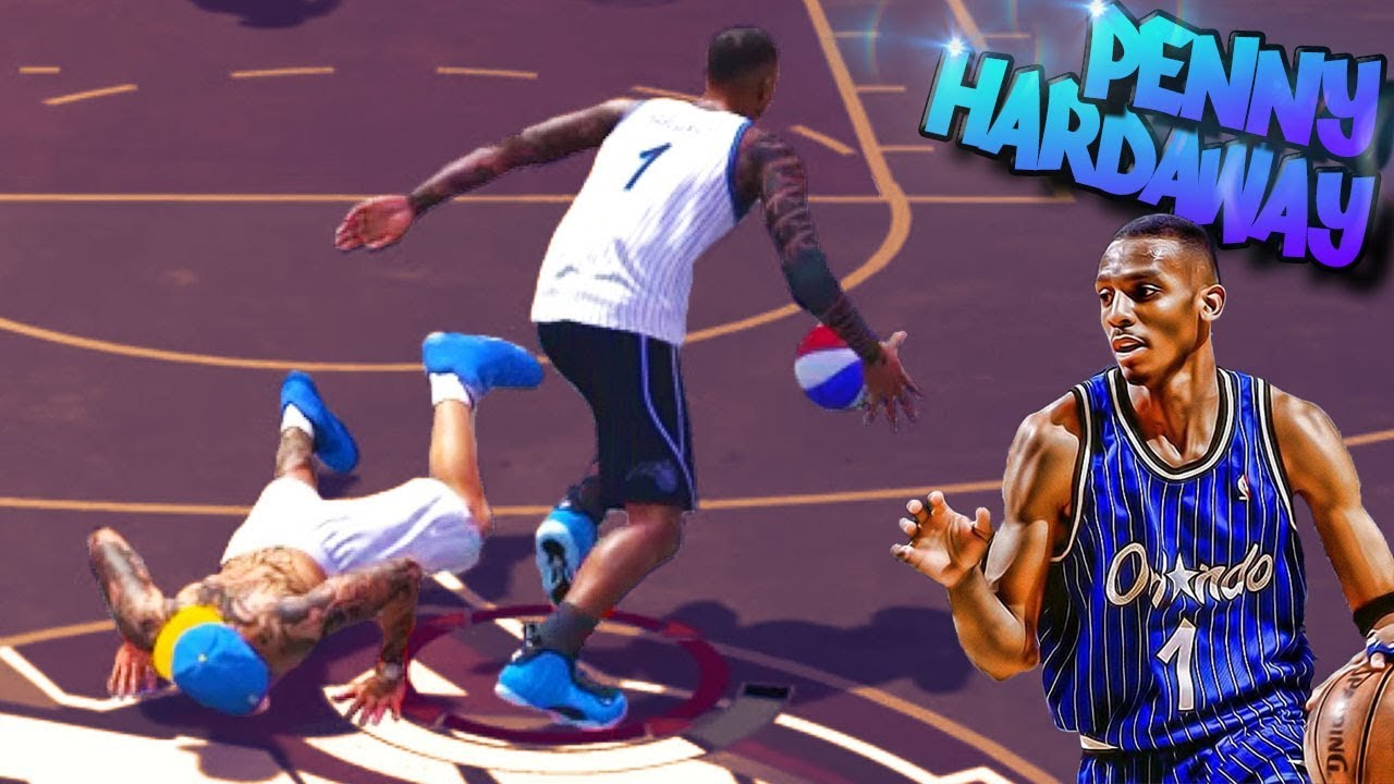 PENNY Hardaway Archetype Back TAKING Ankles - NBA 2K18 Park 3v3