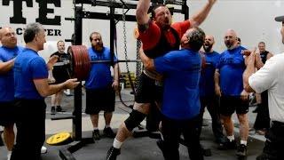 881 @ 220 Raw Squat World Record (w/wraps) - Heaviest 4x Bodyweight Raw Squat Ever