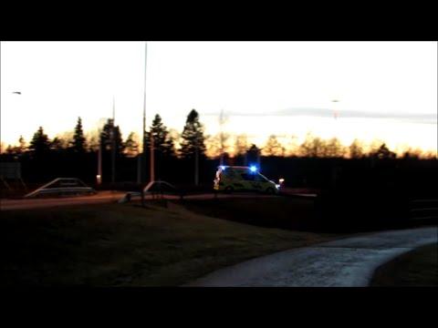 Ambulanssi Ahvenanmaa 6.3.2015 Ambulance Aland Islands Finland