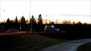 Ambulanssi Ahvenanmaa 6.3.2015 Ambulance Aland Islands Finland