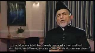 Hadhrat Khalifatul Masih II - Islam Ahmadiyya Khilafat (2/7)