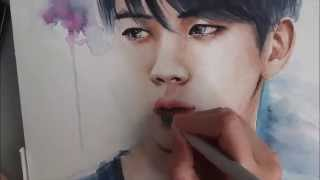 Jin Watercolor Speedpainting