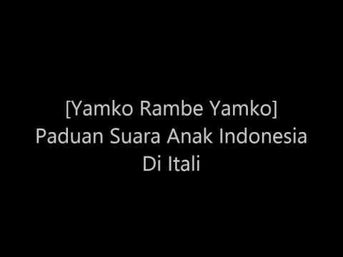 Indonesia Juara 1 Paduan Suara di Itali [Yamko Rambe Yamko] Gegap Gempita Seluruh Peserta