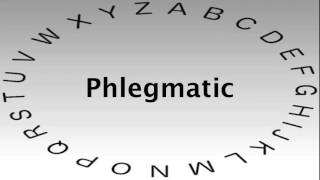 SAT Vocabulary Words and Definitions — Phlegmatic