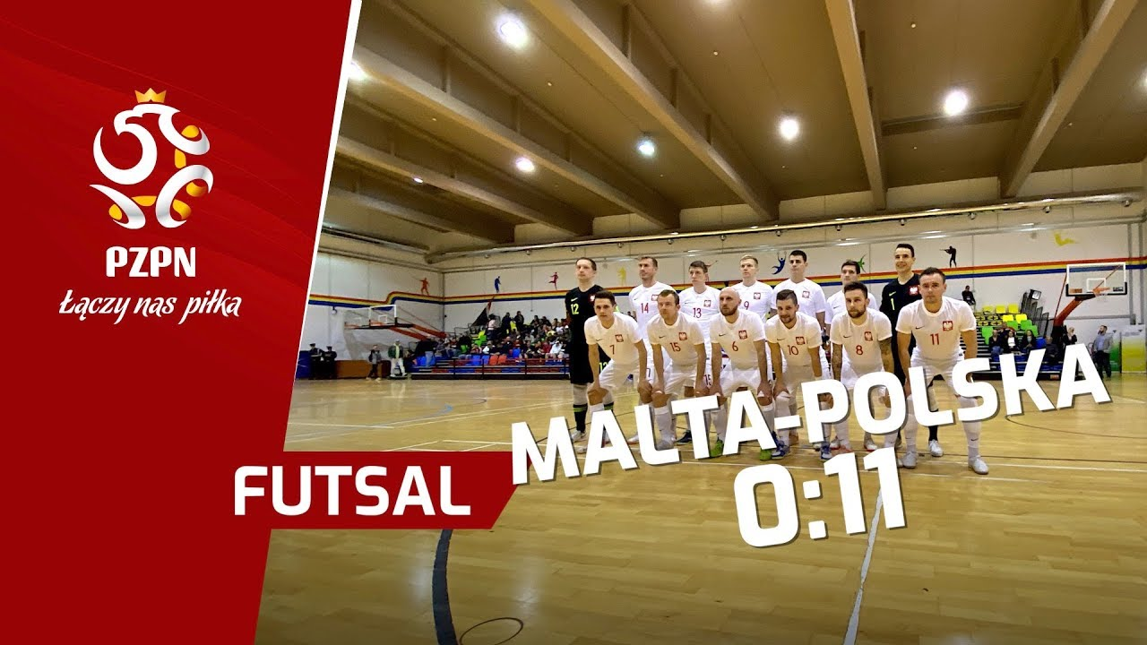 el. ME w futsalu: Skrót meczu MALTA - POLSKA (0:11)