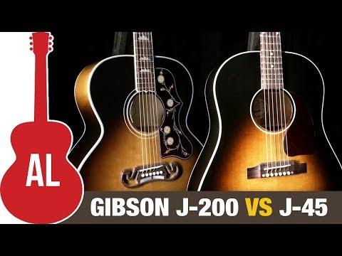 J-200 vs J-45 - What's the Best Gibson Acoustic!?