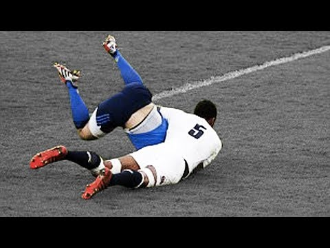 25 Great Rugby Tackles - Impossible to Forget!