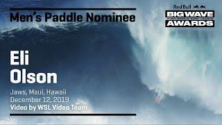 Big Wave Awards 2020 : Eli Olson et Paige Alms, Jaws à la force des bras