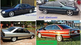 Chevrolet Omega - Catálogo de Cores 1993 a 1998
