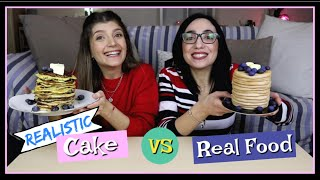 Cake vs Real Food || fraoules22