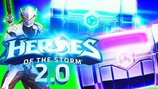Heroes 2.0 Loot Box Opening! Opening Hundreds of Chests! Kiyeberries, AverageAdam & Dan Cybert