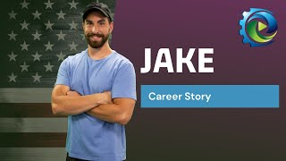Meet Jake, a veteran who was looking for his next career | Manufacturing Career Videos