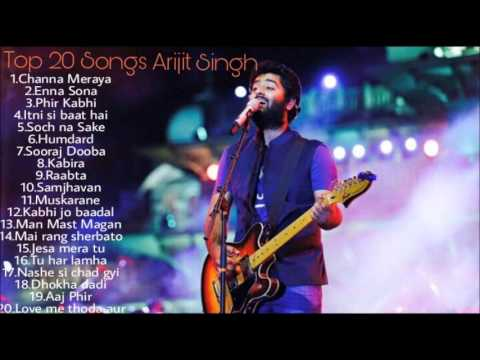 ARIJIT SINGH JUKEBOX 20162017 BEST OF ARIJIT SINGH TOP 20 SGS OF ARIJIT