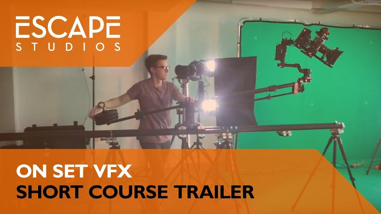 VFX courses and degrees | Escape Studios | Pearson College London