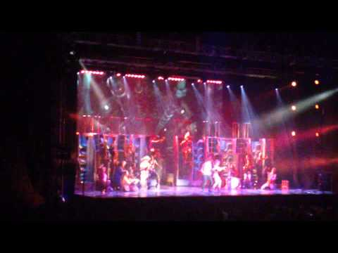 We Will Rock You (musical): 10th Anni. Tour (Zagreb, Croatia, 25.05.2013) - Crazy Little Thing..P.4