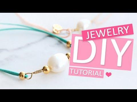 DIY Tutorial – Armbänder mit Artistic Wire und Elastik – Selbst Schmuck machen