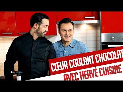 C ur coulant au chocolat avec herv cuisine recette chef - Youtube herve cuisine ...