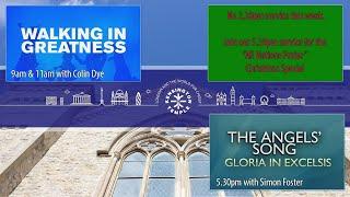 "Watch Live from KT - Colin Dye ""Walking in Greatness"""