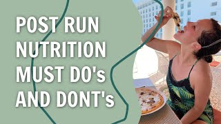 Post Run Nutrition Must Do's with a Sports Dietitian | RunToTheFinish