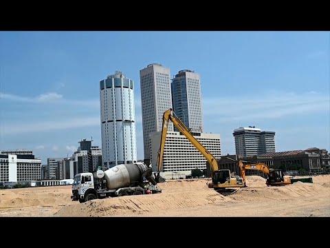 Sri Lanka: le chantier de Port City au ralenti à cause du coronavirus | AFP News