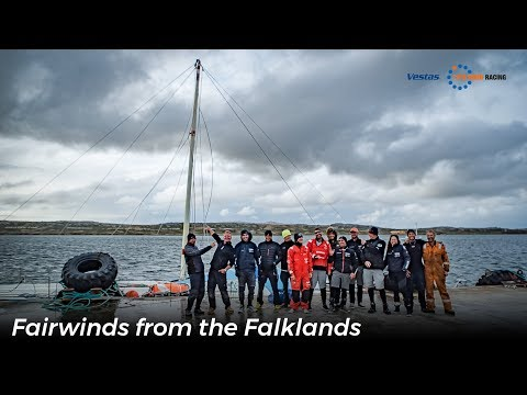 Fairwinds from the Falklands