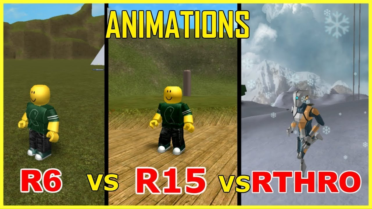 How To Use R15 In Roblox Youtube R6 R15 Rthro Animations In 1 Minute Roblox Youtube