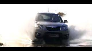 Hyundai SantaFe 2,4: тест драйв программы Автопанорама