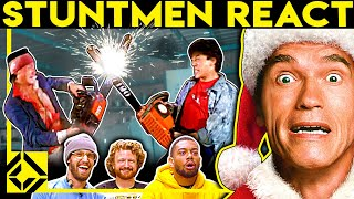 Stuntmen React To Bad & Great Hollywood Stunts 25