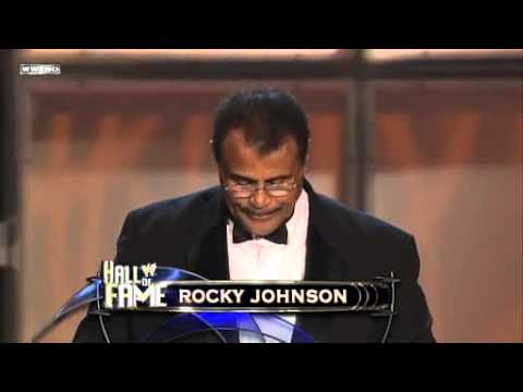 Dan Holzman - RIP Rocky Johnson.