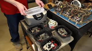 Ultrasonic cleaner from Harbor Freight - tips and tricks