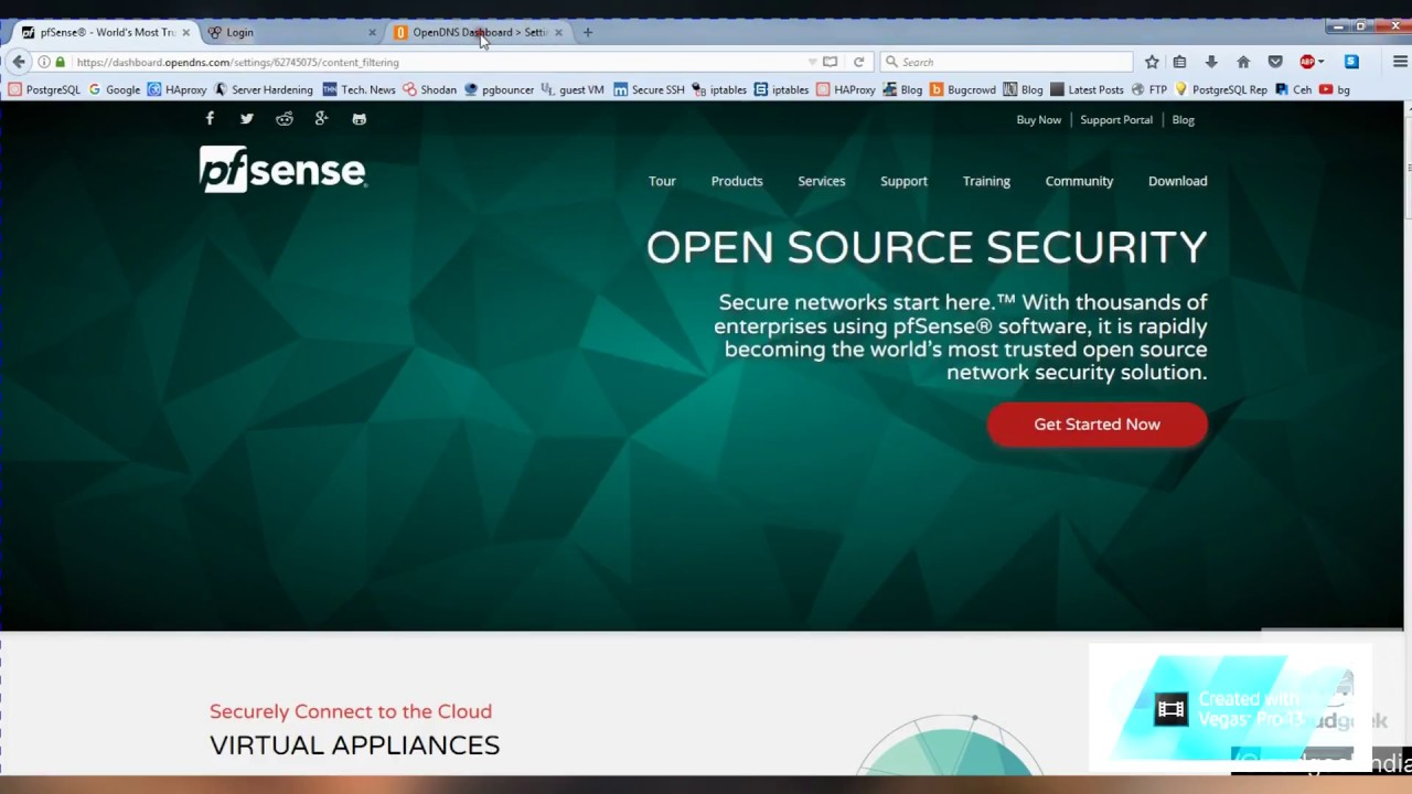 Use openDNS on pfsense for Content filtering, Block Websites!