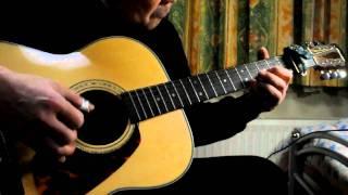 久しぶりに鉄弦アコギ(Morris F-32)でアンジーを弾いてみました。右手...