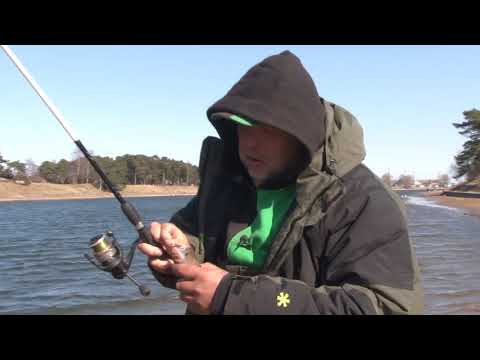 Как ловить на дроп-шот. На рыбалку с Нормундом #65