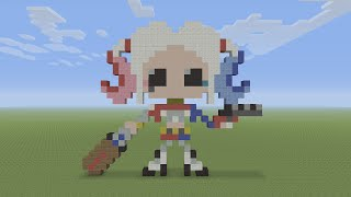 Minecraft Tutorial: Harley Quinn (Suicide Squad) Statue > Play Video ...