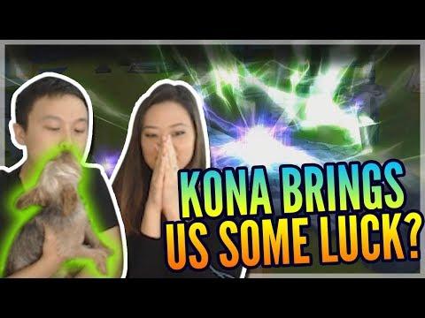Waifu + Kona = LUCK!?! - Ohana Summons - Family Collab \w/ ^_^ \w/