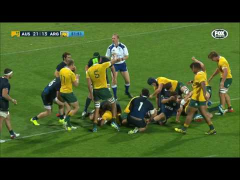2016 Rugby Championship Rd 4: Australia v Argentina
