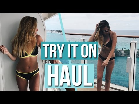 Try It On Swimsuit Haul! Bikini Haul 2017!