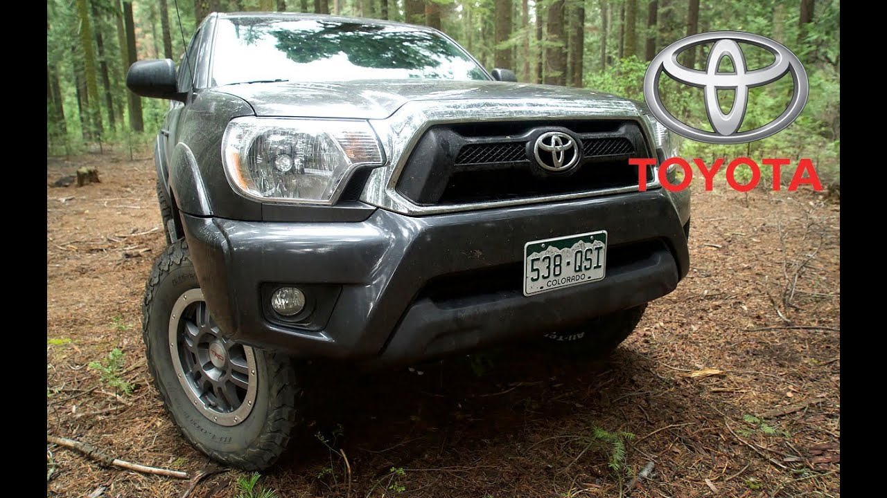 Toyota Tacoma Aftermarket. 33 Inch Tires, Off Road   YouTube