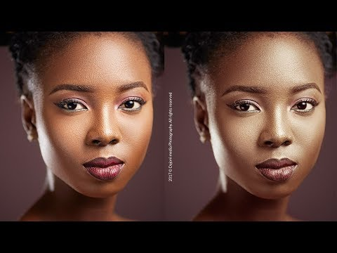 How To GRADE SKIN TONE In 5 Minutes! Photoshop CC Tutorial