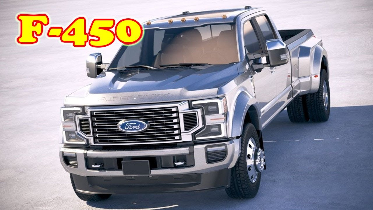 Spy Shoot 2021 Ford F450 Super Duty