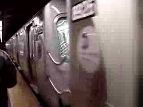 EXCLUSIVE! : R160B Siemens Test Train 8923 - 8932 On The N Line @ Canal Street