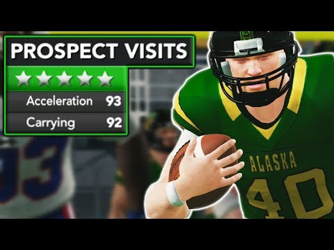 5 STAR ATHLETE VISITS CAMPUS IN MUST WIN GAME!   NCAA 14 Alaska Eagles Dynasty Ep. 7