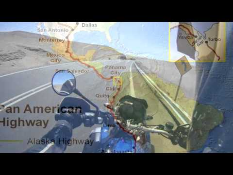 The Pan-American highway: the world's longest road