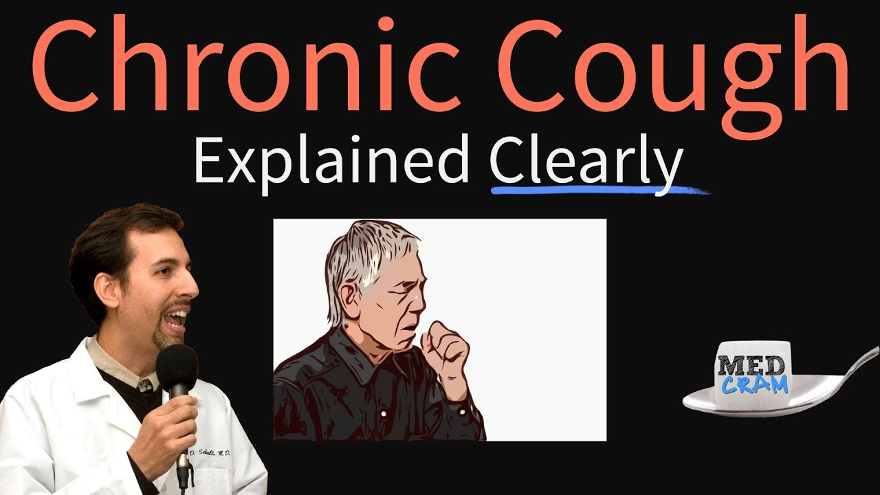 Chronic Cough Explained Clearly by MedCram com | 1 of 2