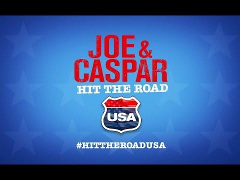 Joe & Caspar Hit The Road USA Youtube Space LA Wrap Party Livestream