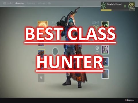 Best Hunter Build Destiny  Pve