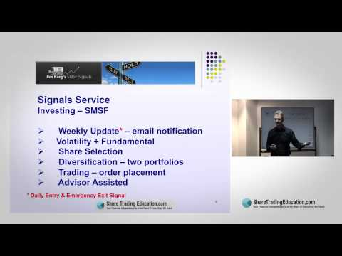 How to invest: Jim Berg's Investing Signals for e.g. Self Managed Super / Superannuation (SMSF)