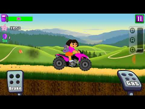 Little Dora climb racing - ( Best android games for children)